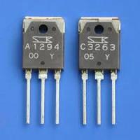 Комплементарная пара 2SC3263 + 2SA1294
