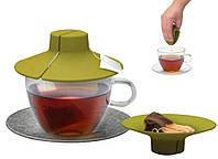 Силиконовая крышка с отжимом Tea Bag Buddy