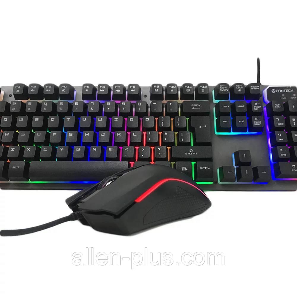 Клавиатура с мышкой игровой комплект Fantech KX-301, SERGEANT, USB