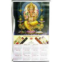 """Календарь """"Индийские божества"""" , Картины, Бабочки в рамке, Панно, Ключницы"""