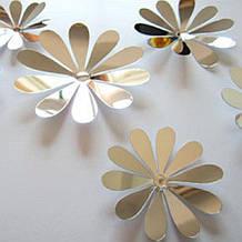 Набір сріблястих квіток
