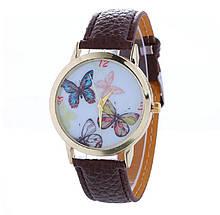 Часы коричневые женские