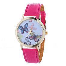 Часы розовые женские