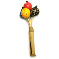 Погремушка цветная (14,5х7,5х7,5 см) , Музыкальная коллекция