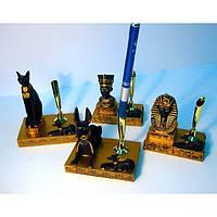 """Подставка под ручку """"Египет"""" (в уп.4шт.)(8,7,5х4,5 см) , Египетская тематика"""