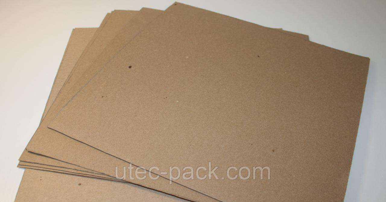 Картон переплетный 1,50 мм ЦОД НТИ картонаж без титульной страницы Формат 320*230 коричневый К-50 -1,5