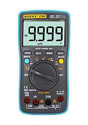 ZOYI ZT302 Защищённый Мультиметр 9999 отсчётов True RMS тестер (RM302) ZOTEK