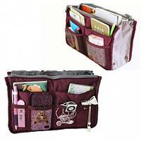 Органайзер Bag in bag maxi бордовый, фото 1