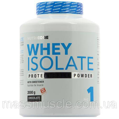 Протеин Nutricore Whey Isolate 2000 g