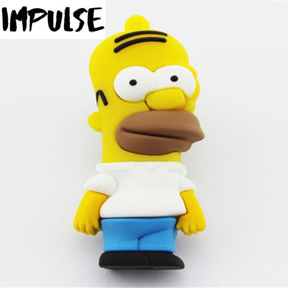 Флешка 16 Гб Homer Simpson