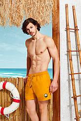 Желтые мужские шорты  Doreanse 3808