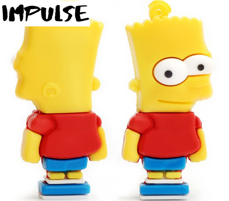 Флешка 16 Гб Bart Simpson
