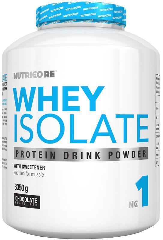Протеин Nutricore Whey Isolate 3350 g