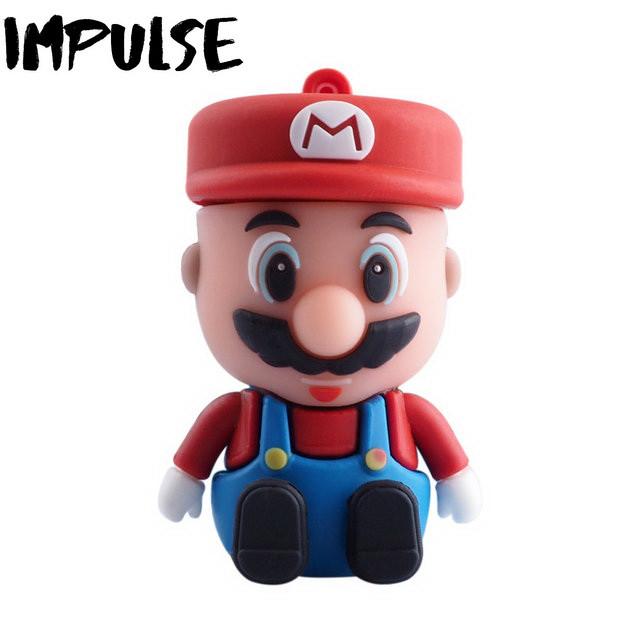 Флешка 16 Гб Mario
