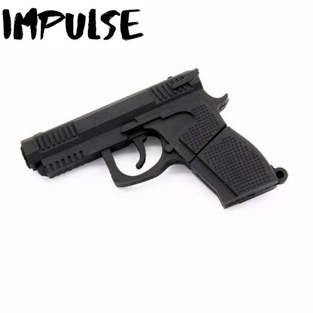 Флешка 16 Гб Пистолет