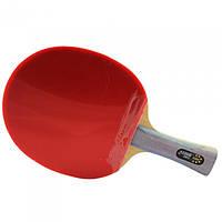 Ракетка для настольного тенниса DHS 6002 (с чехлом), фото 1