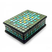 Шкатулка для украшений мозаичная (18х13х5,5 см)24320 , Шкатулки