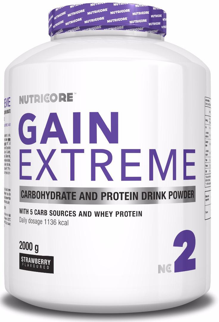 Гейнер Nutricore Gain Extremе 2000 g
