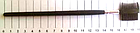 Кисть для бровей и ресниц Q.P.I. PROFESSIONAL искусственная 19 см CB 0676, фото 2