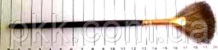 Кисточка для макияжа QPI PROFESSIONAL для растушовки румян натуральная вєєрная СВ 0675