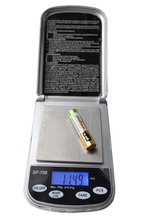 Ювелірні ваги SF-700 (100гр/0.01 гр)
