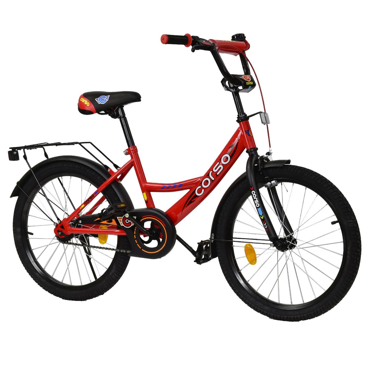 Велосипед CORSO Красный С-20808