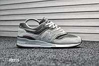 Мужские кроссовки New Balance 997 Light Gray (Реплика)