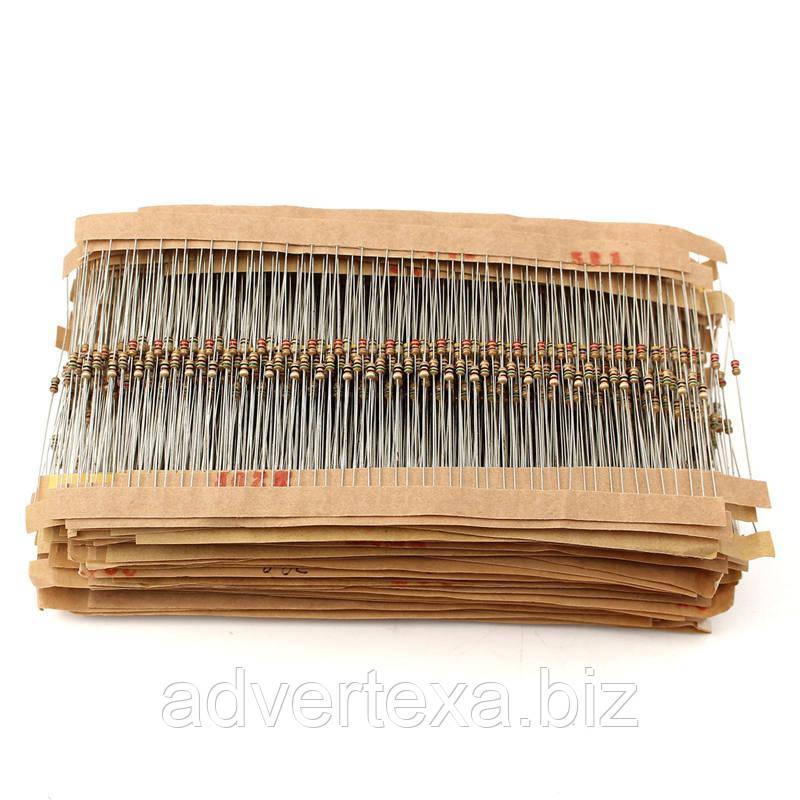 200 шт. Резисторы 0.125 Вт 20 номиналов ассорти кОм мОм