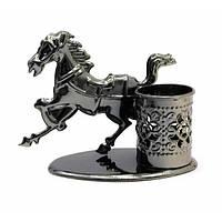 """Техно-арт подставка под ручки """"Лошадь"""" (11х12х6,5 см) , Техно-арт"""