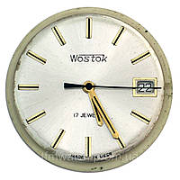 Советский часовой механизм Wostok 17 камней