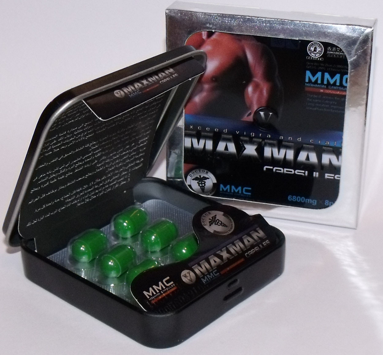 Эффективный препарат для потенции MaxMan 5 (МаксМэн 5)