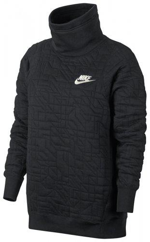 Женская толстовка NIKE Sportswear Funnel-Neck (Артикул: 857372-010)