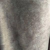 Мебельная ткань флок антикоготь детская мебель сублимация 6051-коричневый
