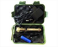 Тактический  фонарик полицейский Police  GL-E10, диод Cree (набор)