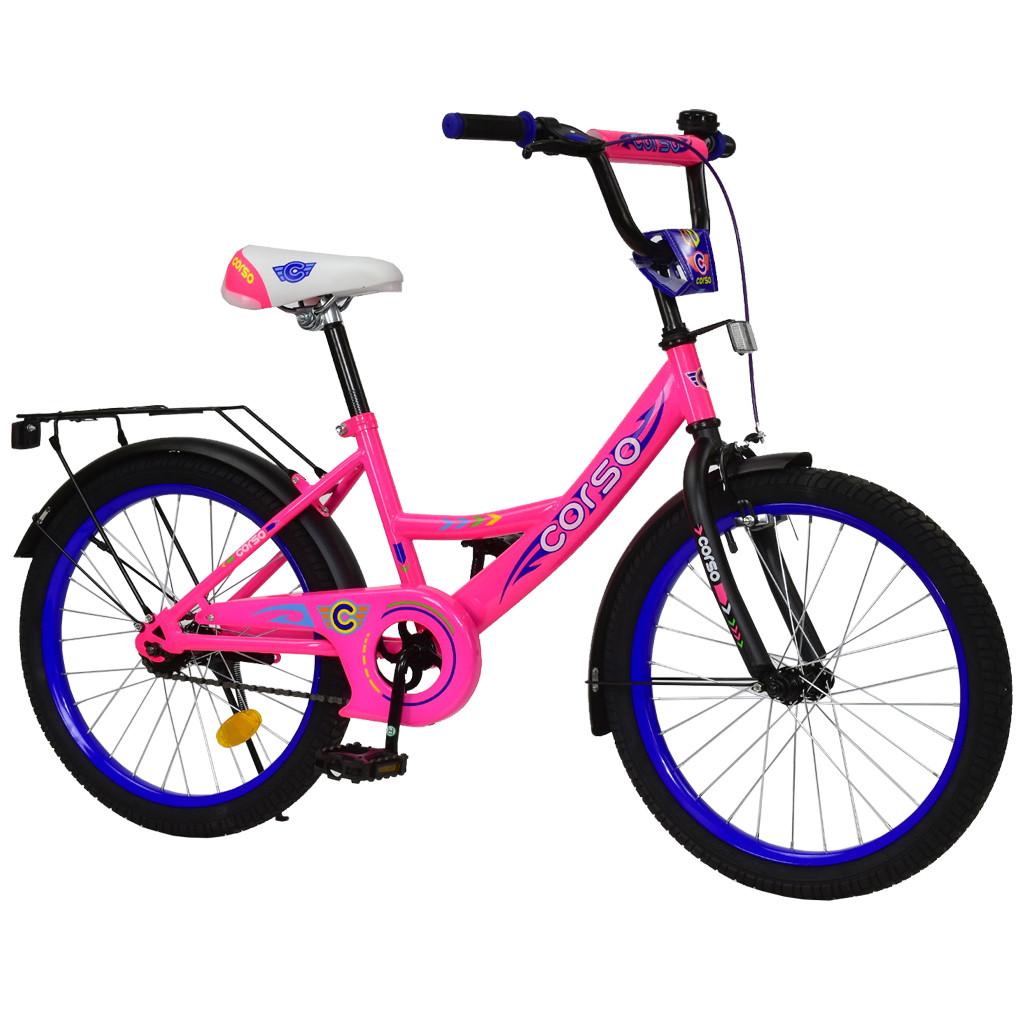 Велосипед CORSO Розовый С-20303