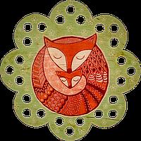 Органайзер для мулине с рисунком FLZ-009(М-6)