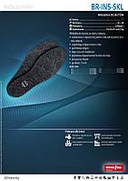 Стельки для обуви оптом !! стельки кожаные  BR-INS-SKL, фото 1