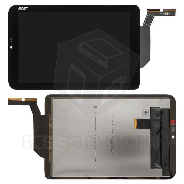 Дисплейный модуль дпя планшета Acer Iconia Tab W3-810, черный