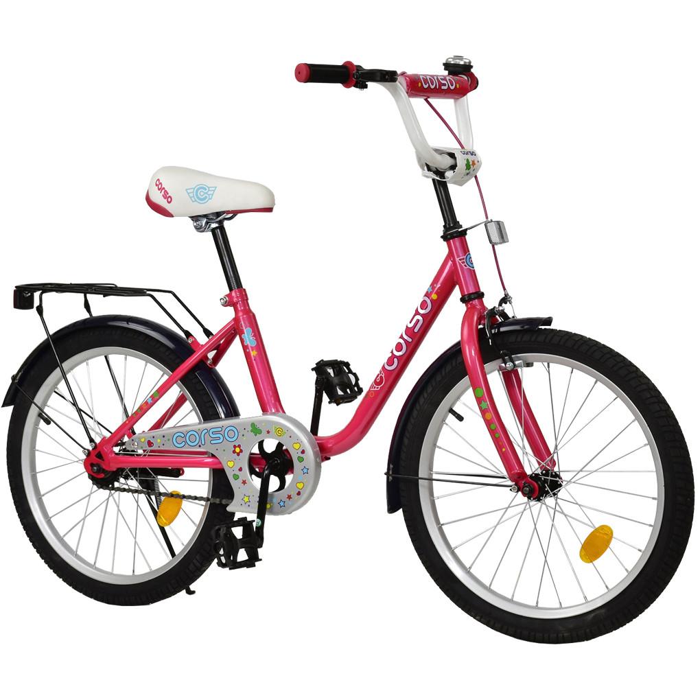 Велосипед CORSO Розовый С-20707