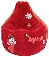Кресло детское мешок груша МАШЕНЬКА бескаркасная мебель