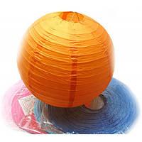 Фонарь цветной бумажный  (d-41 см) , Фонари
