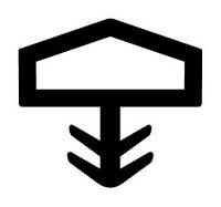 Уплотнитель для межкомнатных дверей 12мм под паз 3-3,5мм