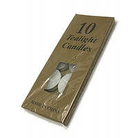 "Свечи ""Чайные"" (набор 10 штук)(18х7х1 см) , Аромалампы"