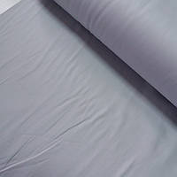 Сатин Люкс однотонный светло-серый, ширина 215 см, фото 1