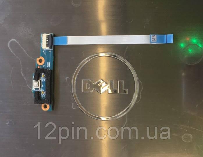 Кнопка включения ноутбука Dell Inspiron 301Z б.у. оригинал