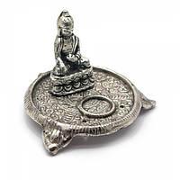"""Подставка под благовония """"Будда"""" (6х9х9 см)(Непал) , Благовония и аксессуары"""