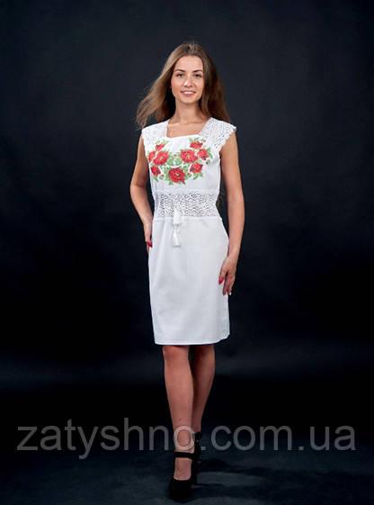 Летнее платья вышиванка