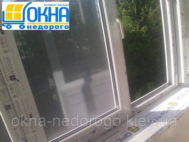 Балкон под ключ Буча - остекление профилем Windom
