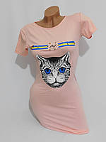 Платье Гуччи Кот