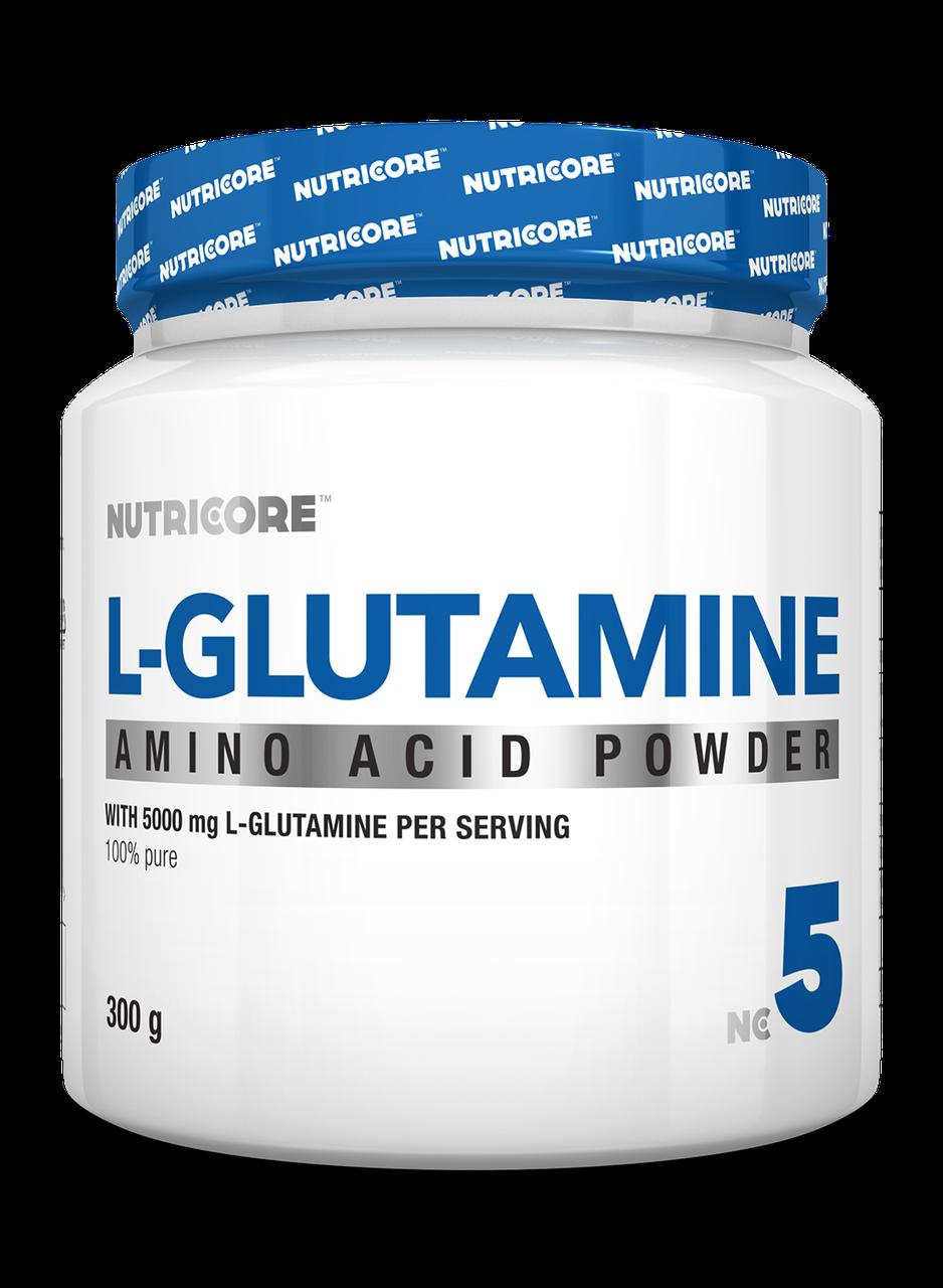 Глутамин Nutricore L-Glutamine 300 g